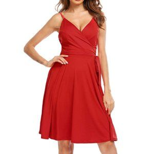 NWT Lipstick Sweetheart Bust 50s Pinup Wrap Dress